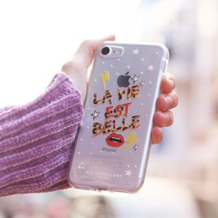 iPhone telefoonhoesje - la die est belle