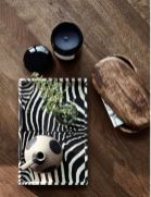 Dienblad zebra dessin