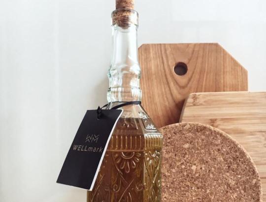Wellmark olijfolie fles
