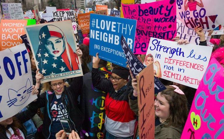 manifestation pancartes