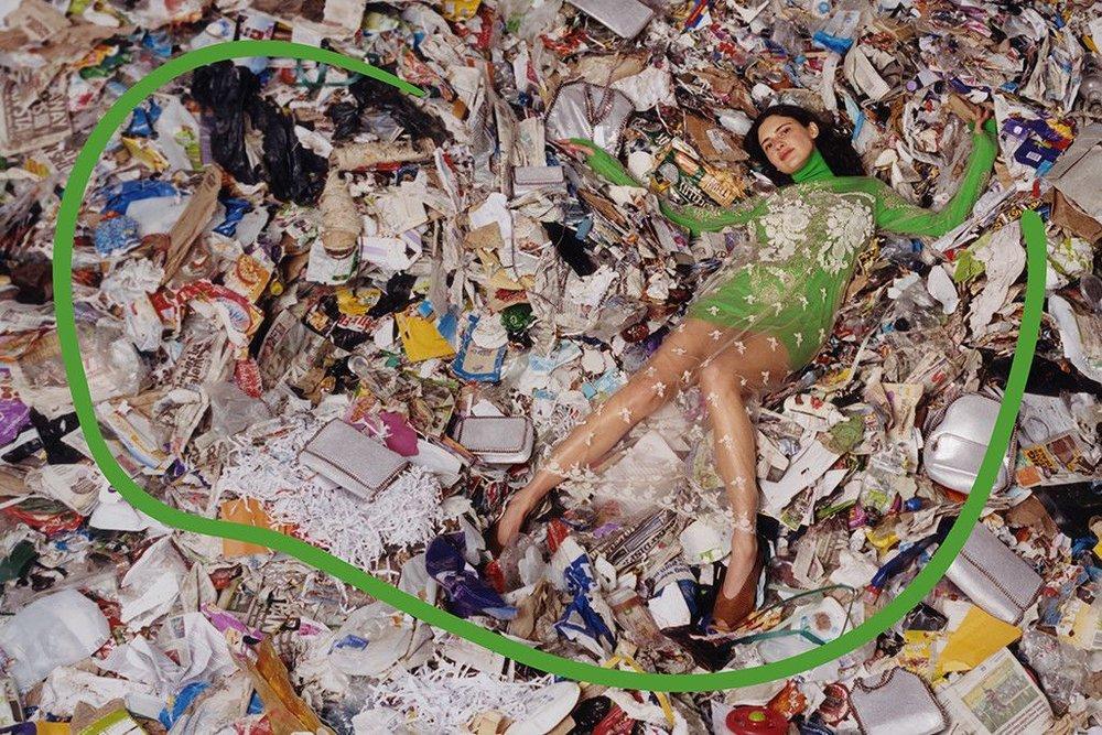 Stella McCartney - la diseñadora de ropa de lujo sobre desperdicio de ropa - ladoberlin