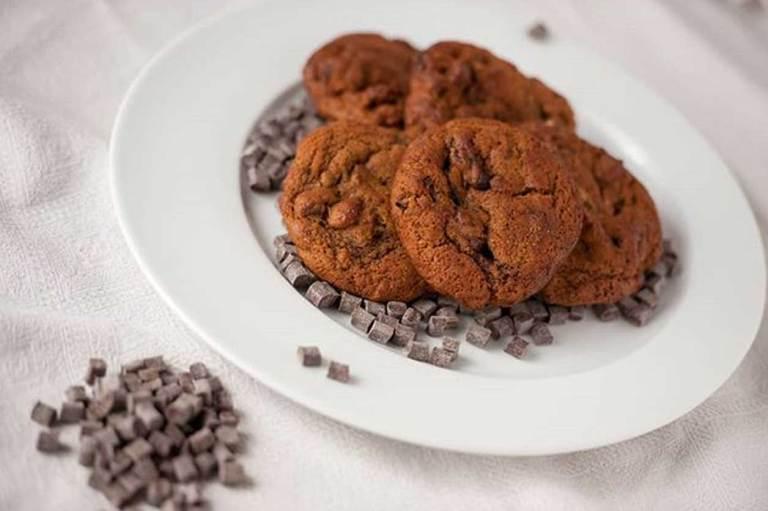 biscotti con chunk di cioccolato