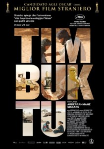 MAU/FR, 2014 Regia: Abderrahmane Sissako Interpreti: Ibrahim Ahmed, Toulou Kiki Orario: 16,15 – 18,15 – 20,15 Drammatico. Durata 100 min.