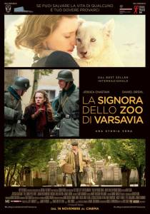 USA  2017 Regia: Niki Caro Interpreti: Jessica Chastain, Daniel Bruhl Drammatico. Durata 127 min. Orario: 17,00 – 20,00