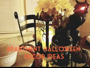 Apartment Decor -Halloween Edition