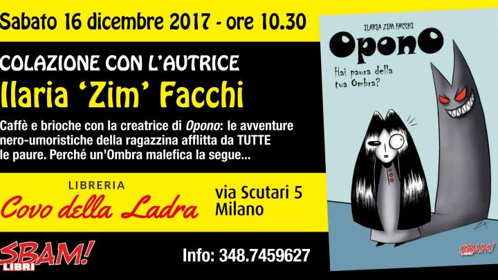 Colazione con Opono e la sua autrice Ilaria Zim Facchi