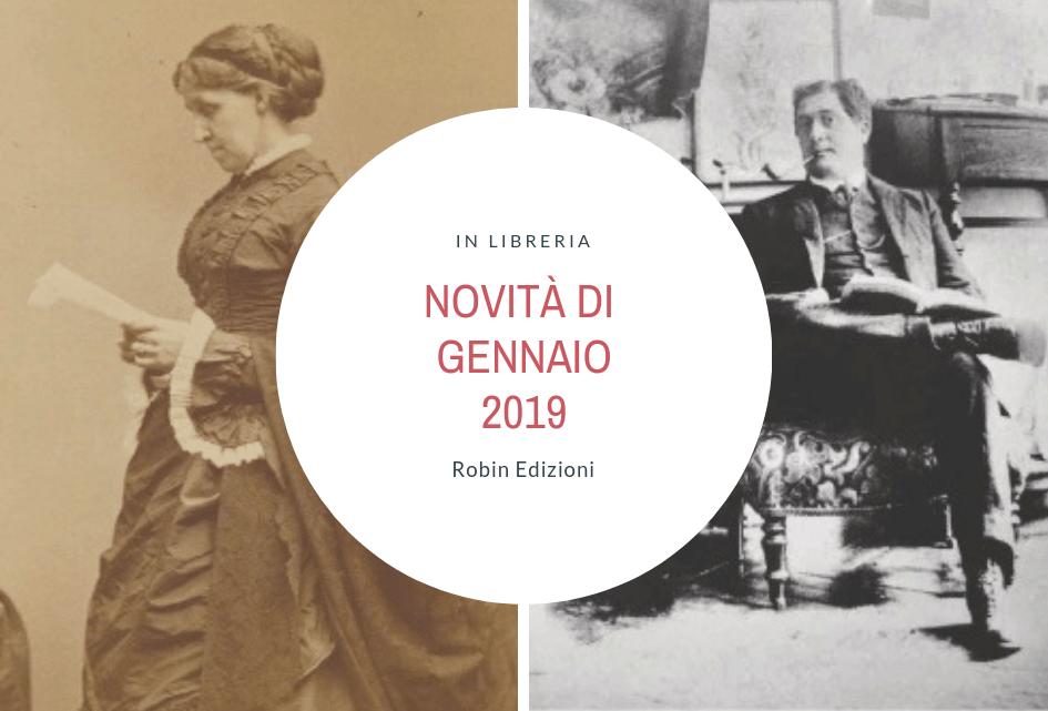 Novità libri di gennaio 2018 per Robin Edizioni: Louisa May Alcott & Guillaume Apollinaire