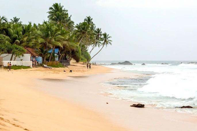 Dalawella-Beach Sri Lanka