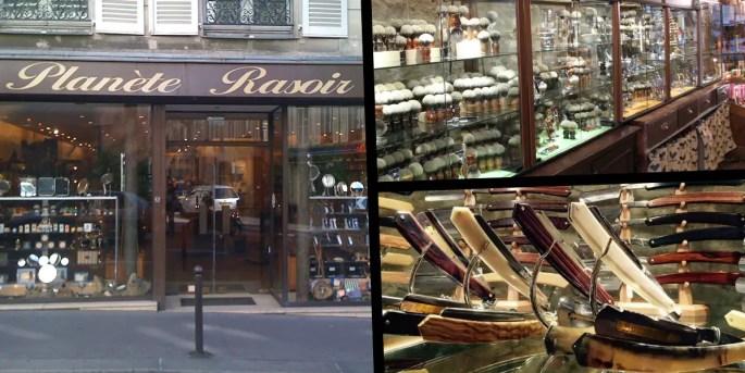 Planete Rasoir babers and beard shop in Paris