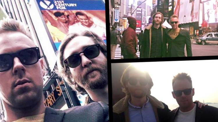 New York Tourist spots with Lee Walpole and Luke Butler
