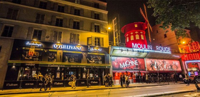 O'sullivans bar in Paris was the best on the Pigalle strip