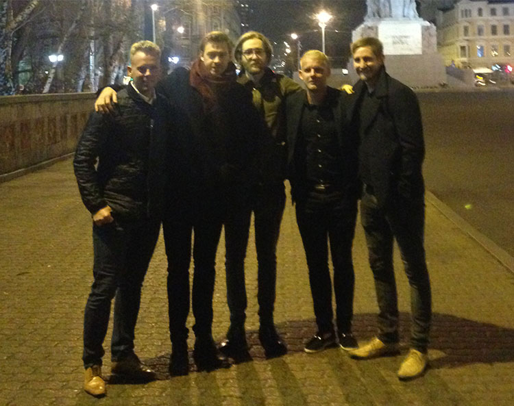 Lads weekend in Riga, Latvia