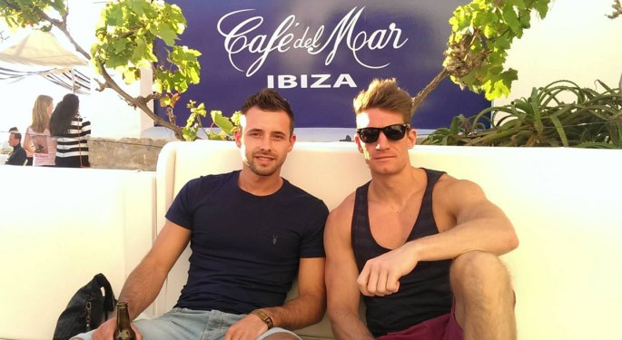 Shane Ross in Ibiza