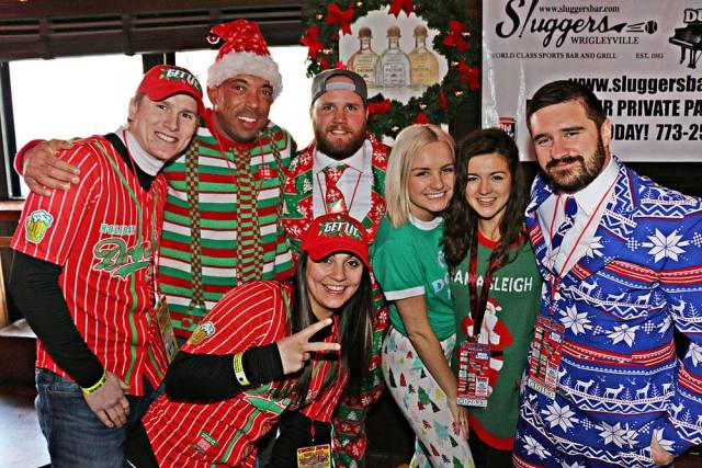 TBOX Christmas Bar Crawl in Wrigleyville, Chicago