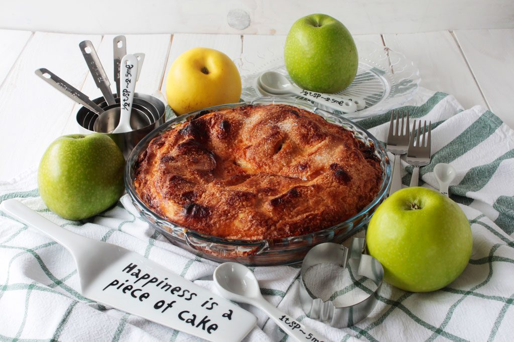 Tarta de manzana estilo amaricano