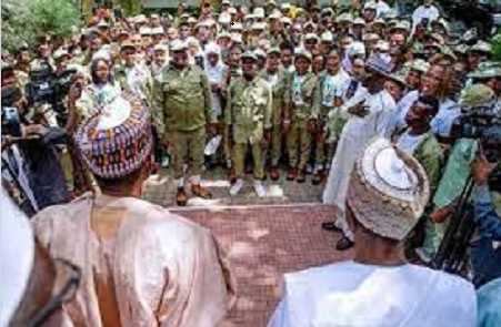 NYSC Broadens The Horizon Of Citizens, It's Here To Stay - Buhari