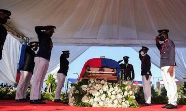 Haiti holds funeral for slain president Moise
