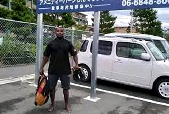 Missing Ugandan Athlete Who Says He Wanted To Work In Japan Because Africa Is Hard Spotted On CCTV