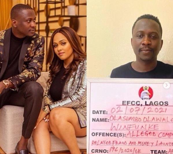 tania omotayo husband sumbo EFCC Fraud