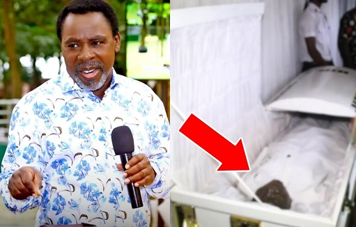 TB Joshua buried, TB Joshua laid to rest, Tears flow freely as TB Joshua is finally laid to rest