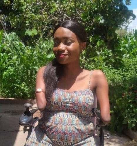 Physically disabled Zimbabwean motivational speaker unveils her man