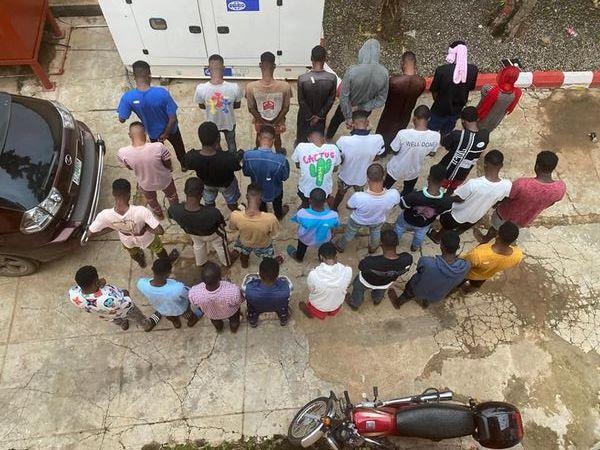 30 'Yahoo-Yahoo Boys' busted at Kwara State University