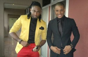 Alexx Ekubo, Uti Nwachukwu settle rift of many years