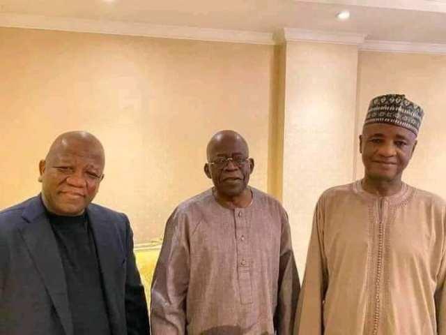 Ex-governors Yari, Wamakko visit Tinubu in London