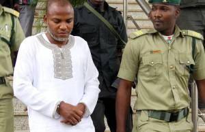 Nnamdi Kanu: Security agents cordon off Abia High Court