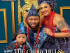Churchill and Rosy Meurer show off their son;s face for the first time using a magazine cover