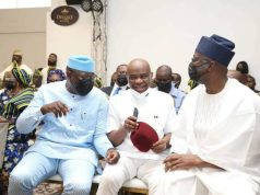 Fighting over politicians, religion WRONG - Governor Makinde says citing Fayose's son' wedding