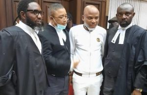 Nnamdi Kanu pleads not guilty, case adjourned