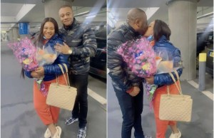 Nkechi Blessing jets to London to meet boyfriend days after burying mom