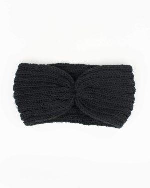 bandeau cheveux femme hiver noir