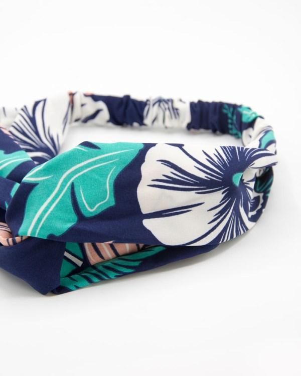 hedband cheveux femme imprimé tropical