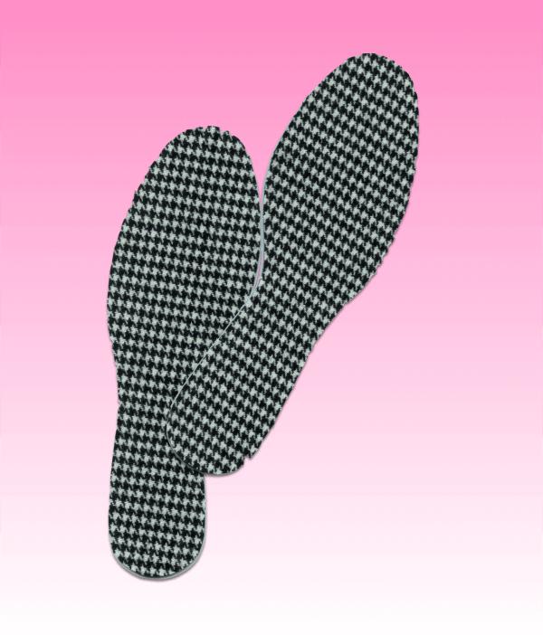 Inlegzolen pied de poule voor in ballerina schoenen Lady's Secret