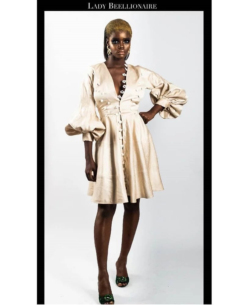 LadyBeellionaire ModE unboxed collect Look 6