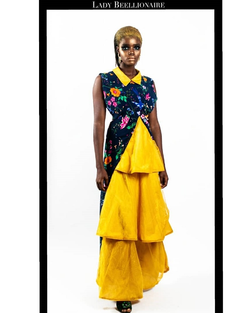 LadyBeellionaire ORCHARD DRESS UNBOXED Look 4