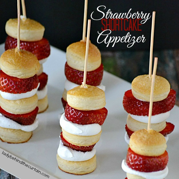 Quick Easy Strawberry Shortcake