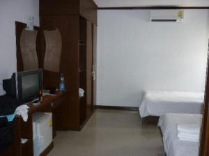 Asialoop Guest House room view with TV & Fridge