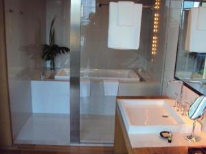 Maduzi Hotel inside the bathroom tub