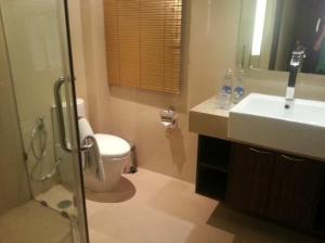 Nova Gold Hotel Pattaya toilet