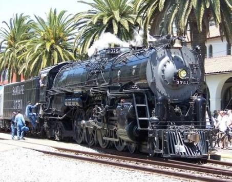 Santa Fe 3751 – 1927 Steam Locomotive | Photo credit: Courtesy of Union Station