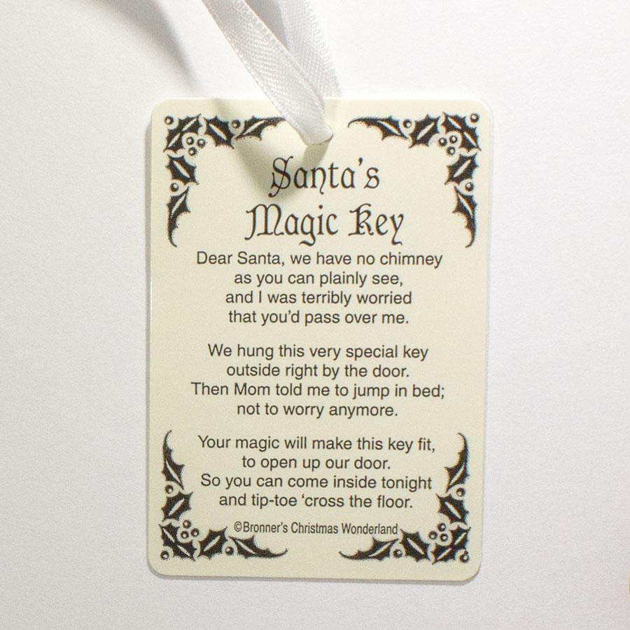 Poem For Santas Magic Key Does Not Include Key Ladybug
