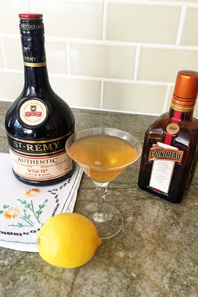 Sidecar Cocktail - Lady by Choice