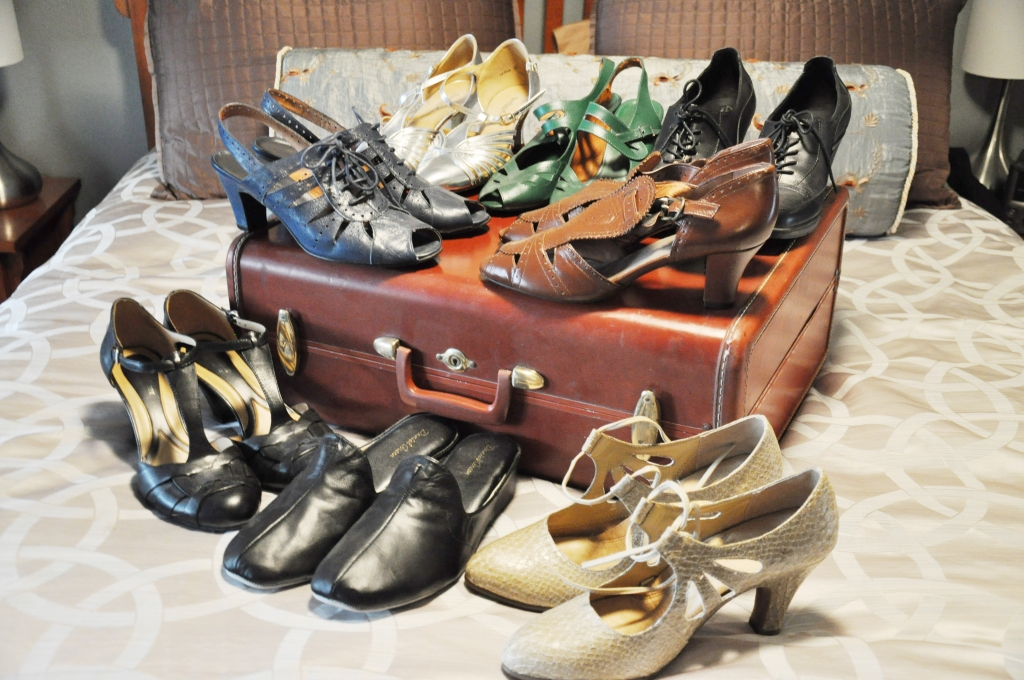 Queen Mary Art Deco Festival vintage dress shoes packing list