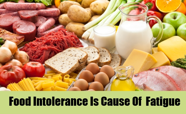 Food Intolerance Is Cause Of  Fatigue
