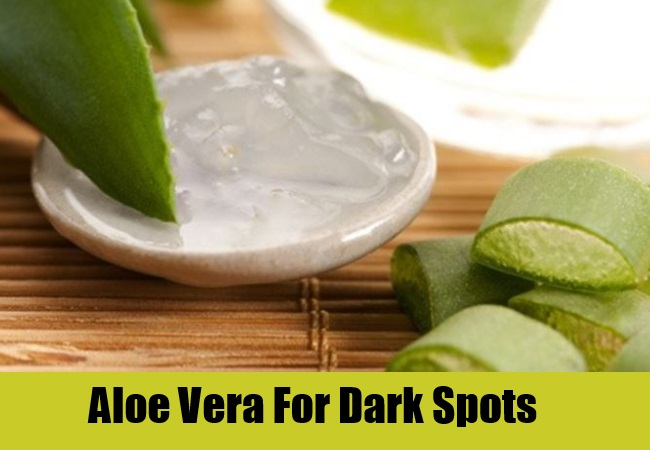 Aloe Vera For Dark Spots