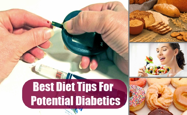 Diet Tips For Potential Diabetics