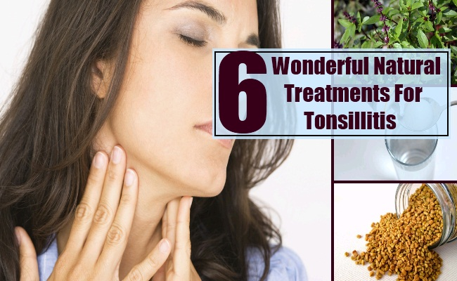 Natural Treatments For Tonsillitis